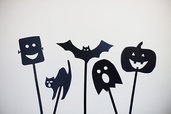 Halloween Shadow Puppets // Free Download // {collected} for Sweet Little Peanut