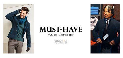 Kurtki wykonane z dwukolorowej ultralekkiej tkaniny double face – must have sezonu Pako Lorente docenione prze Kenzo Takadę.