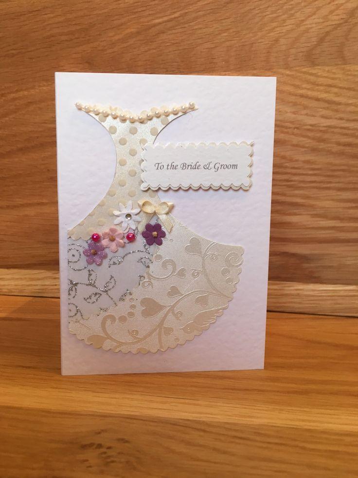 #handmade #oneofakind #unique #cards #wedding #weddingdress #buttons #embellishments #congratulations #bride #groom #handmadegreetingcards #handmadeweddingcards