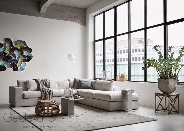 Gelderland bank 7810 design Jan des Bouvrie #gelderlandmeubelen #dutchdesign #jandesbouvrie
