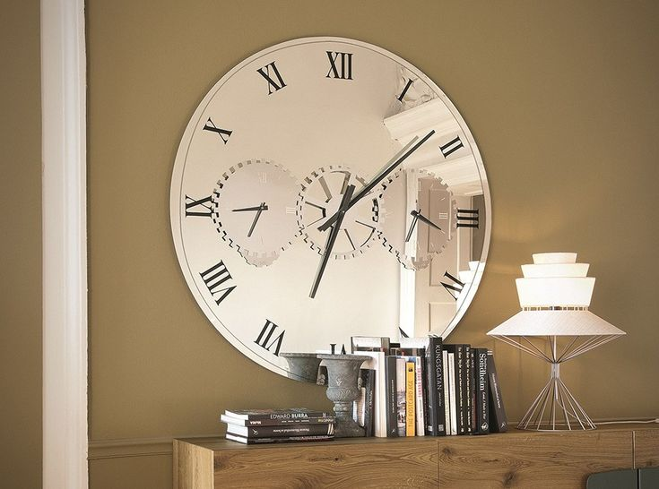 Times Modern Wall Mirror / Watch by Cattelan Italia - $2,375.00