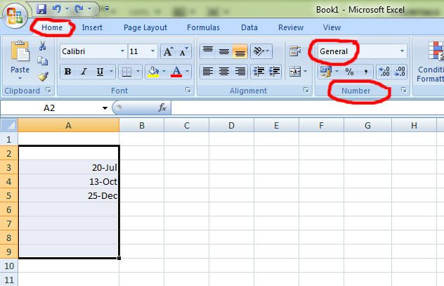Dates in excel in Melbourne