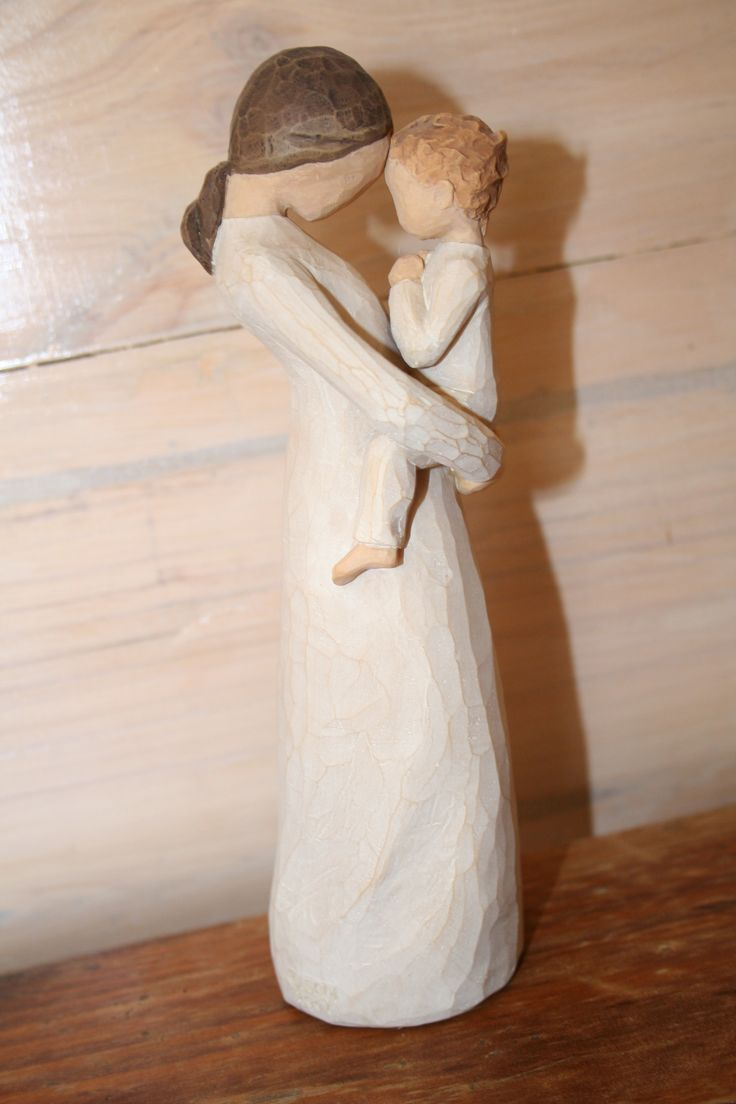 Willow Tree Tenderness.... Treasuring a rare, quiet and tender moment of motherhood .