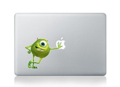 Macbook 13 inch decal sticker monsters inc mike wazowski art for apple laptop amazon