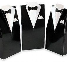 Tuxedo Favour Box - Black http://www.aussieweddingshop.com.au/Product/109/tuxedo-favour-box-black
