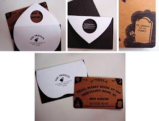 custom Ouija invitations