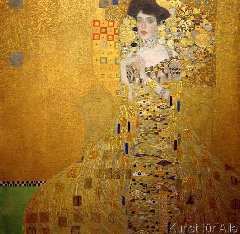 Gustav Klimt - Bildnis Adele Bloch-Bauer I