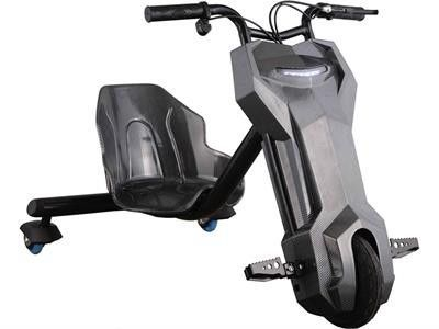 MotoTec MT-Triker-Black Triker 24v Drift Scooter (Lithium) Black