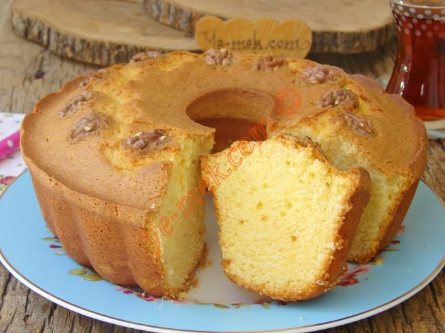 Hem damağınızda hem de aklınızda farklı bir tat bıraktıracak nefis bir kek tarifi...