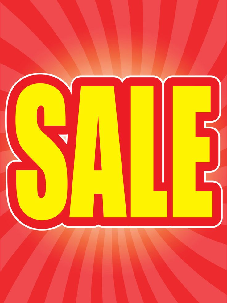 """Sale 18""""x24"""" Store Business Retail Promotion Signs"""
