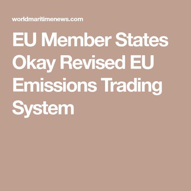 EU Member States Okay Revised EU Emissions Trading System