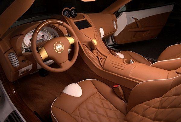 C6 Corvette Platform Gets an Italian Makeover - Corvetteforum ... check out that interior.