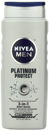 Nivea For Men Platinum Protect Deodor... $3.99 #topseller