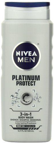 Nivea For Men Platinum Protect Deodor... $3.99 #topseller