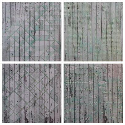 NőiCsizma | Geometrikus stencil csomag