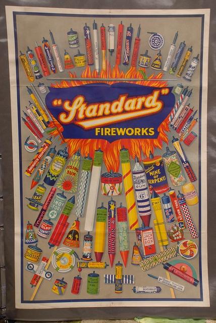 Standard Fireworks Colourful Art Poster by EpicFireworks, via Flickr