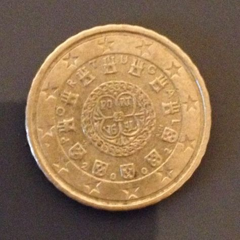 10 Euro Cent from Portugal 2002 #portugal #euro #coin #coincollector #numismatic #coins #algarve #coincollection