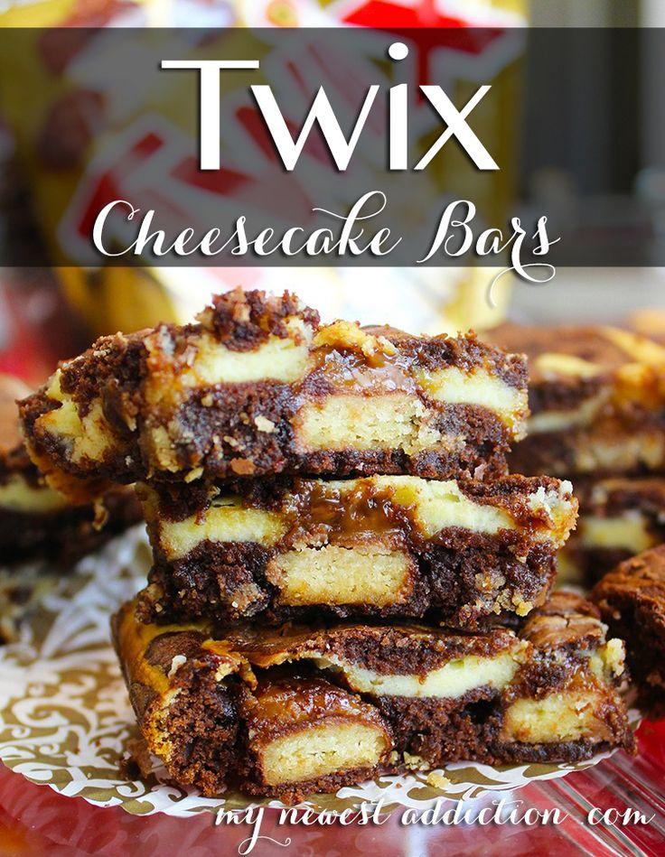 TWIX® Cheesecake Bar Recipe via www.mynewestaddiction.com #eatmorebites #shop