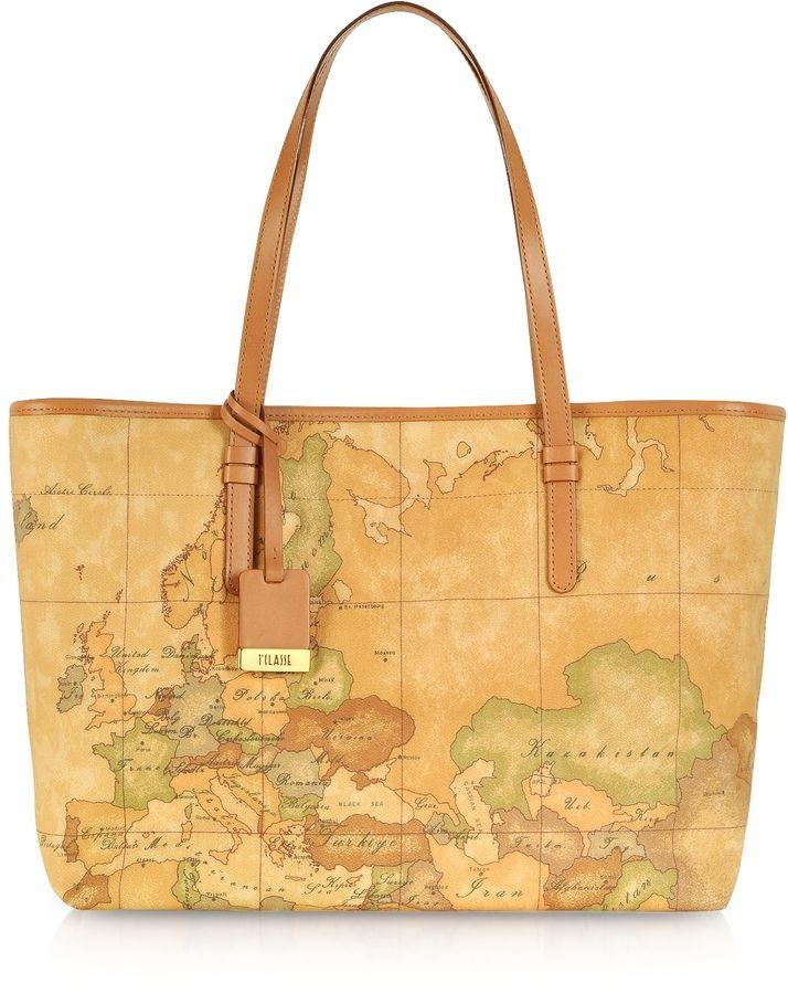Top Handle Handbag On Sale, Night Blue, Leather, 2017, one size Alviero Martini 1A Classe