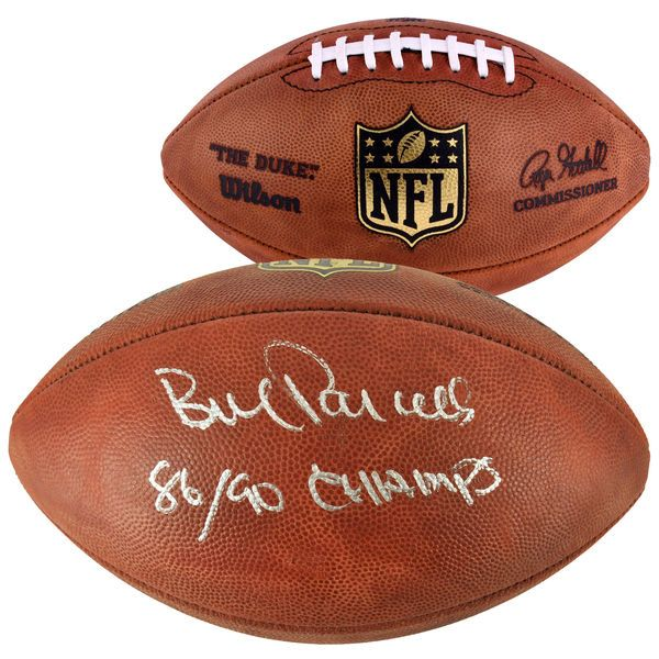 Bill Parcells New York Giants Fanatics Authentic Autographed Football with 86/90 Champs Inscription - $374.99