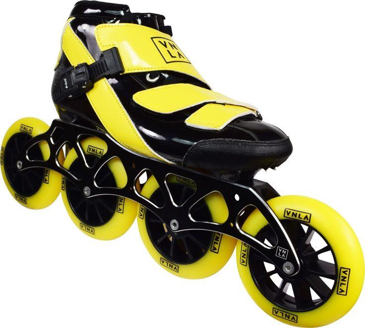 Men 47346: Vnla Vanilla Spyder Inline Speed Skates **Brand New** Sizes 7 - 13 -> BUY IT NOW ONLY: $199 on eBay!