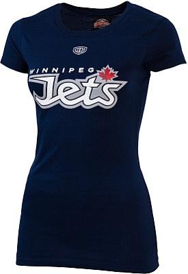Winnipeg Jets Women's Logo T-ShirtSports Team, Jet Women, Clothing Style, Winnipeg Jet, Hayley Stuff, Team Players, Logo T Shirts, Hockey Clothing, Dreams Closets