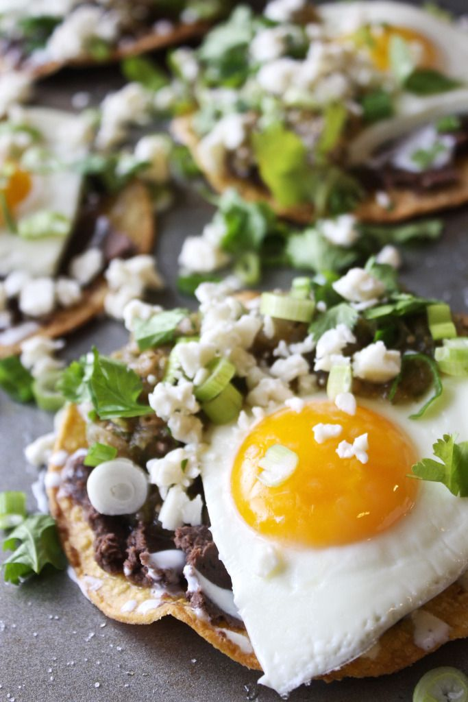 Huevos Rancheros with Grilled Salsa Verde