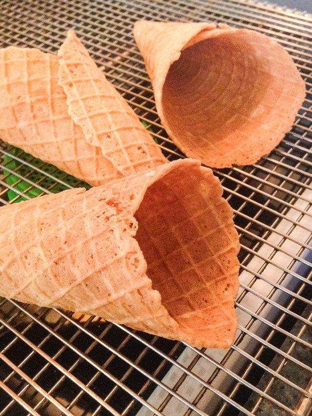 Cornets sans gluten vegan recette