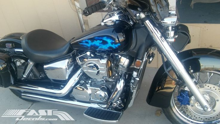 #truefire #tankdecals #firedecals #motorcycles #honda #cruisers #fastdecals