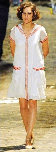 Marion Cotillard's 20's dress in Midnight in Paris.