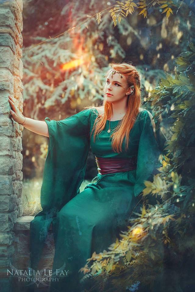 Medieval Dress Ceres Fantasy dress roman dress by Gewandfantasien