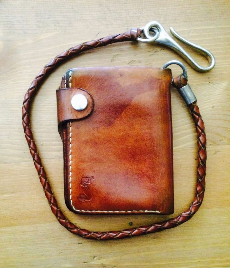 Soxisix handmade biker wallet, one of the first pieces:) Owned by Henry B. about 2 years - SOXISIX - Google+