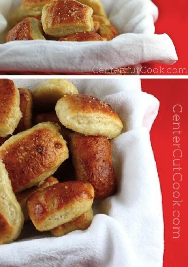 These BUTTERY MINI SOFT PRETZEL BITES are the perfect dipper for all of your favorite dips!