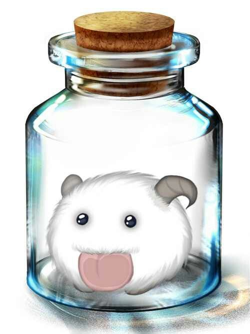 Adorable Poro!! League of Legends - Howling Abyss