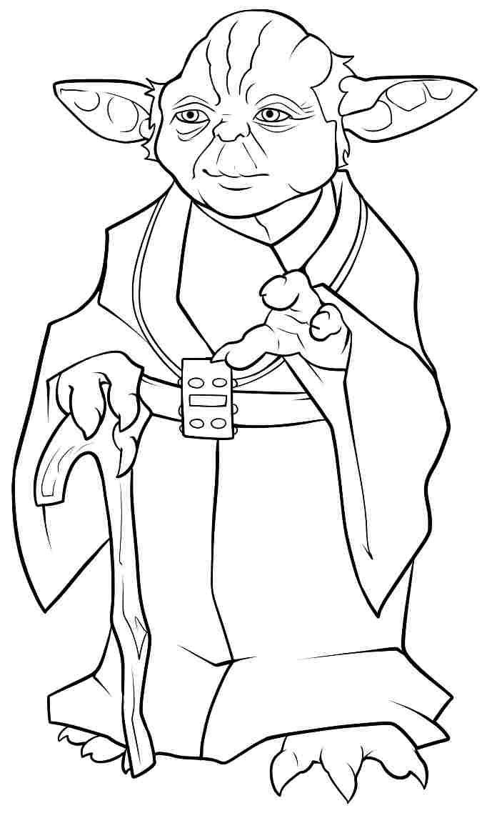 Yoda Jedi Clipart Star Wars Personajes
