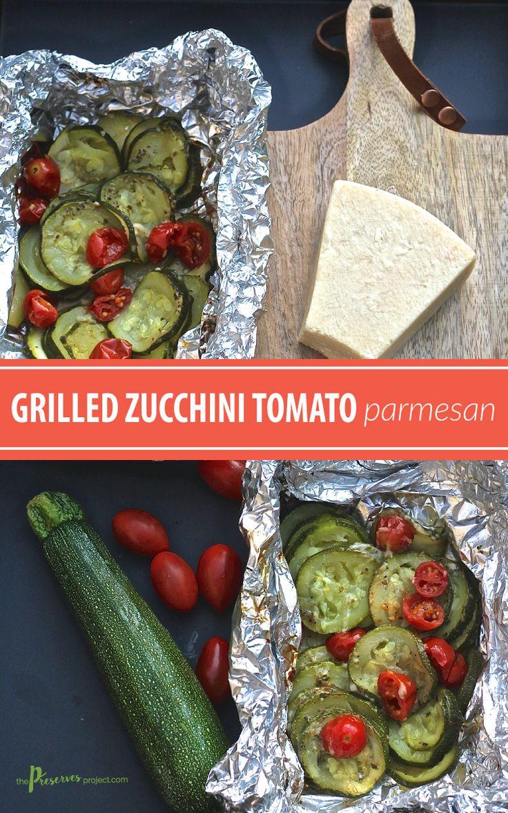grilled zucchini tomato parmesan grill recipes gf recipes veggie ...