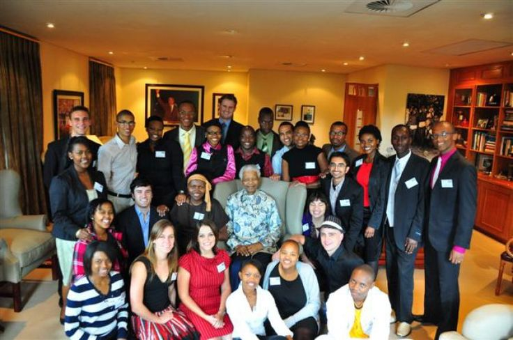 I am a former student of the University of Cape Town (UCT). This picture was taken in April 2010 when paying him visit as a group of Mandela-Rhodes Scholars. He remains an inspiration to me as he is to so many people around the world. I wish him well and a speedy recovery, praying that God will heal and sustain him. Submitted by Serge Furaha Lomago