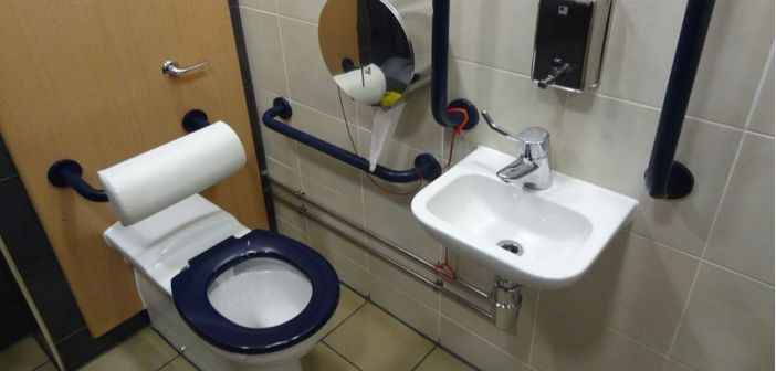 Safety Handicap Bathroom Accessories: Which Are the Most Important? #handicapbathroomsafetyequipment Use this basic guide to help you select some of the most important safety handicap bathroom accessories for your disabled bathroom at home. Visit Accessible Homes Advisor for more info...