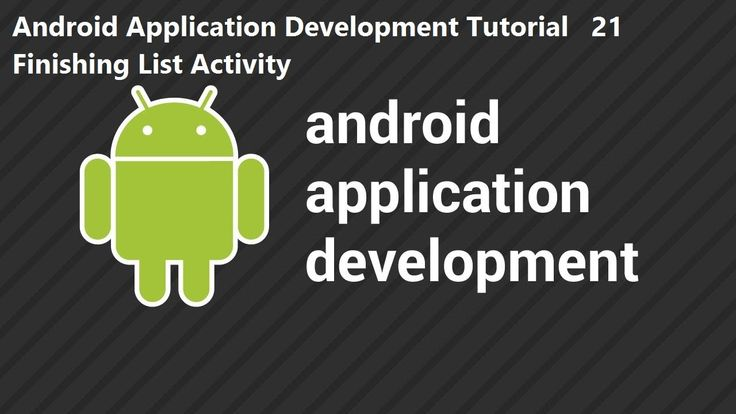 Android Application Development Tutorial 21 Finishing List Activity Android Application Development Tutorial 21 Finishing List Activity