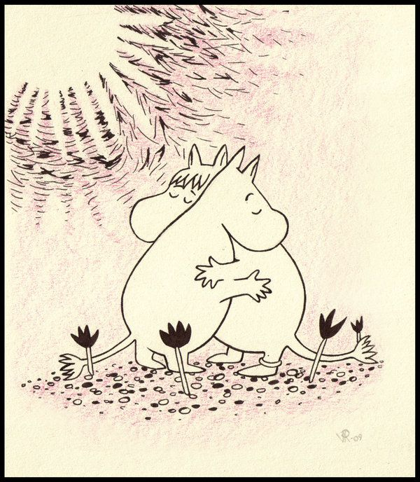 I love the Moomins