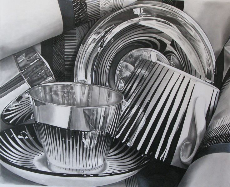 Jeanette Pasin Sloan / Star Cup / 20x24 / Graphite and Watercolor