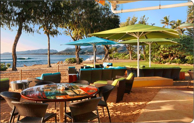 "Lava Lava Beach Club in Kapaa offers ""toes in the sand"" ambiance, Dinner & Drinks, Oceanfront Dinning, Kauai Hawaii, Island Lifestyle, East Kauai"