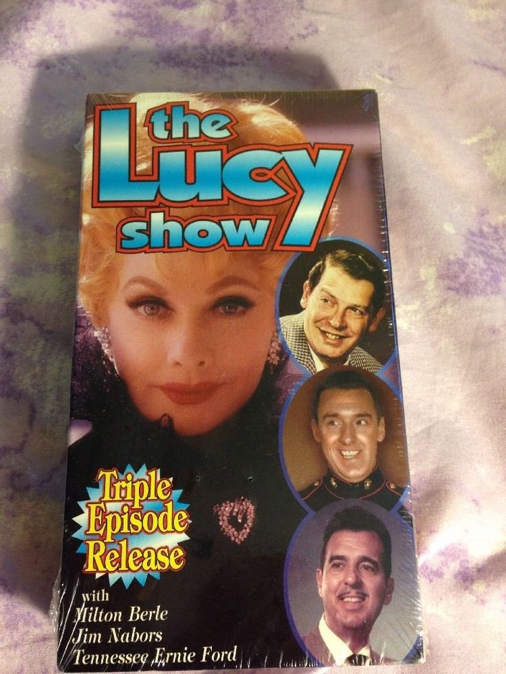 The Lucy Show Triple Episode Release VHS Lucille Ball Jim Nabors TN Ernie Ford