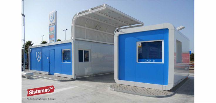 Estación de Servicio V2 en Torrevieja. Spain diseñado, fabricado y montado por @sistemastm #gasstation  #design