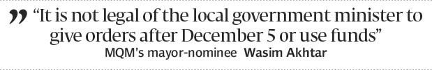 Demanding local power: MQM flexes muscles to get message across - The Express Tribune
