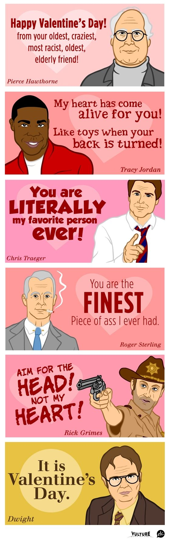 Best Valentines EVER I watch ever single one of these show and – Tv Valentines Day Cards