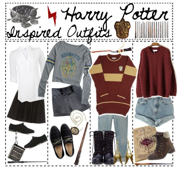 """Harry Potter Inspired Outfits!"" by hopeless-wanderer20016 on Polyvore"