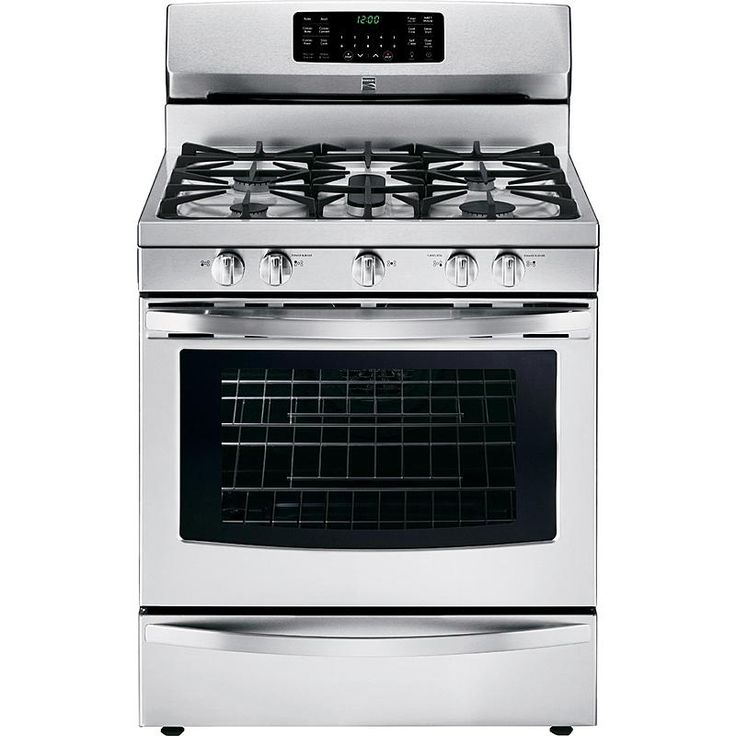 Electric Kitchen Stoves Sears ~ Kenmore cu ft gas range w convection oven