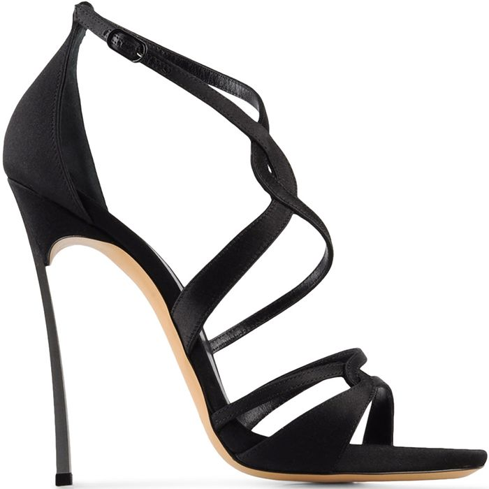 velvet strap sandals - Black Casadei Shopping Online Cheap Price Free Shipping Explore Outlet Locations Cheap Price XSiuq6B8
