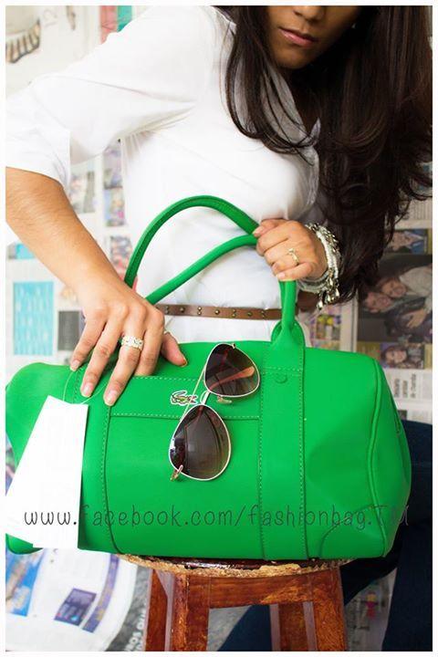 Lacoste green. Estilo fresco y elegante